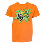 Nickelodeon Double Dare Tee Shirt Orange
