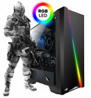 Gaming PC AMD FX 8300 8x 4.2 Ghz Geforce GTX 1050 Ti 4GB HDD SSD Windows 10 RGB