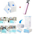 Hot -YP01 5X Vacuum Storage Bags Space saver +Hand pump For travel Seal Clothes