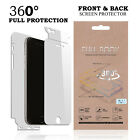 Full Protection 360 Front Back Film Screen Protector for Apple iphone 7 6s Plus