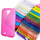 TPU Silicone Soft Gel Jelly Phone Case lot of Color for Samsung Galaxy S4 i9500