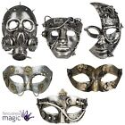 Adult Steampunk Gothic Victorian Industrial Halloween Fancy Dress Accessory Mask