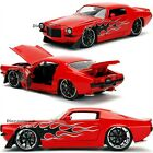 1971 CHEVROLET CAMARO SS 1:24 DIECAST CAR MODEL JADA BIG TIME MUSCLE BRAND NEW