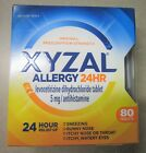 NEW Xyzal 24HR Allergy 24 Hour Relief 5mg Antihistamine Tablets 80 Count $16.99 USD on eBay