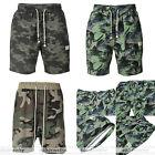 Men's Tactical Camouflage Vintage Military Combat Tactical Cargo Shorts Casual