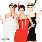 Adults 1920s Flapper Jazz Charleston Gatsby Fancy Dress Outfit Costume Kit Set