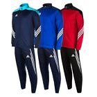 Mens adidas Sereno 14 Tracksuit In Red/Black In Various Sizes From Get The Label