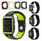 iWatch Case Cover Sports Gel Silicone Bumper for Apple Watch Series 3/2/1