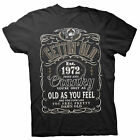 Gettin' Old Pissy And Cranky - Est. 1972 - 46th Birthday Gift T-shirt - 002-