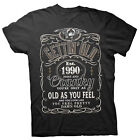 Gettin' Old Pissy And Cranky - Est. 1990 - 28th Birthday Gift T-shirt - 002