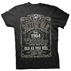 Gettin' Old Pissy And Cranky - Est. 1954 - 64th Birthday Gift T-shirt - 002-