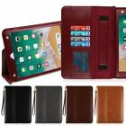 "Luxury Flip Leather Shell Cover Wallet Case Stand for Apple iPad 5 6 7 8 (9.7"")"