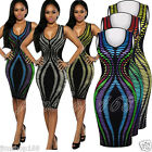Women's Sleeveless Bodycon Cocktail Evening Party A-Line Slim Pencil Dresses