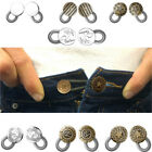 Внешний вид - 2/6x Jeans Pants Button Instant Fix Metal Waist Stretch Extenders Sewing Tool