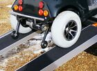 7ft Folding Channel Ramps - Special Design - No Catch on Anti Tipping Wheels