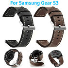 For Samsung Gear S3 Classic / Frontier Watch Genuine Leather Wrist Band Strap image