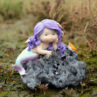 Resin Mermaids Garden Ornaments Gnomes Statues GiftsHome Decro Fish Tank Display