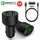 Qualcomm Certified 6V/3A Quick Charge 3.0 Tronsmart USB Car Charger+Type-C Cable