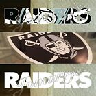 Oakland Raiders Sticker Decal Vinyl Sign NFL Nation Football *3 Decal Sizes!*