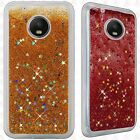 For Motorola Moto G5 PLUS Liquid Glitter Quicksand Hard Case Phone Cover