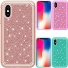 For Motorola Moto G5 PLUS Liquid Glitter Quicksand Hard Case Cover +Screen Guard