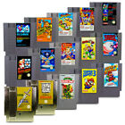 NES Spiel Super Mario Bros Mega Man Zelda Kid Icarus Metroid Duck Tales Turtles
