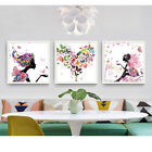 Unframed Flower Fairy Modern Art Canvas Painting Picture Print Home Wall Decor