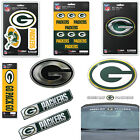 NFL Green Bay Packers Premium Vinyl Decal / Sticker / Emblem - Pick Your Pack $6.98 USD on eBay