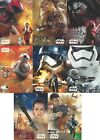 2015 Topps Star Wars The Force Awakens Character Montages cards - Pick Yours !!