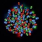 100 Bright Led Solar Fairy String Lights Garden Party Xmas Wedding Patio Outdoor