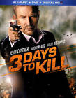 new to dvd 2014 - 3 Days to Kill (Blu-ray/DVD, 2014, 2-Disc Set) New