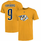 Filip Forsberg Nashville Predators Reebok Name and Number T-Shirt - Gold on eBay