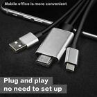 USB 3.1 Type-C to HDMI 4K*2K UHD HDTV Adapter For Samsung Galaxy S9 S8 MacBook