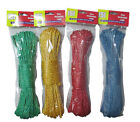 25m METRE STRONG NYLON WASHING LAUNDRY DRYING LINE ROPE GARDEN POLE REPLACEMENT