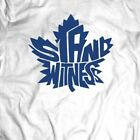 TORONTO MAPLE LEAFS STAND WITNESS ARTWORK Shirt *MANY OPTIONS* $24.99 USD on eBay