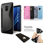 New Shockproof Slim Silicone TPU Hard back Case Cover For Various Model Phones