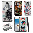 For LG Aristo HYBRID IMPACT Hard Gel Fusion Hybrid Case Cover + Screen Guard