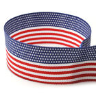"7/8"" Patriotic American Flag Grosgrain Ribbon - Fourth of July"
