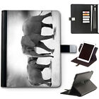 HAIRYWORM ZOO ANIMALS APPLE IPAD LEATHER CASE, 360 SWIVEL TABLET COVER FOR I PAD