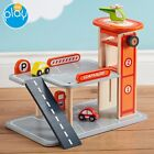 Wooden Car Garage Parking Kids Truck Toy Role Play Educational Creative My Play <br/> 12 Month Guarantee - Free Delivery - 30 Day Returns