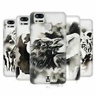HEAD CASE DESIGNS BLACK & WHITE ANIMALS HARD BACK CASE FOR ASUS ZENFONE PHONES