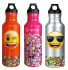 Official Emoji Sports Water Bottle Novelty Gift Sunglasses Wink