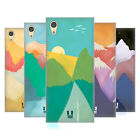 HEAD CASE DESIGNS COLOURFUL MOUNTAINS HARD BACK CASE FOR SONY PHONES 1