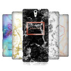 CUSTOM CUSTOMISED PERSONALISED MARBLE PRINTS HARD BACK CASE FOR SONY PHONES 2