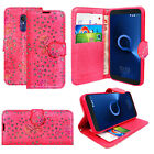 For Alcatel 3V 3C 5 7 A7 New Stylish PU Leather Wallet Flip Phone Case Cover