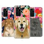 HEAD CASE DESIGNS PETS AND FLORALS SOFT GEL CASE FOR HUAWEI PHONES