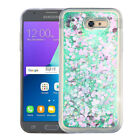 For Samsung Galaxy Sol 2 Liquid Glitter Quicksand Hard Case Phone Cover