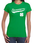 265 Shenanigans Ireland womens T-shirt St. Patricks Day beer party drink clover