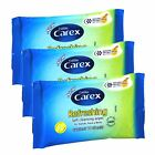Carex Refreshing Soft Cleaning Wipes - Hands, Face & Body - 10 Sheets per pack