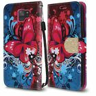For Samsung Galaxy S9 / S9 PLUS Premium Leather Wallet Case Flip Phone Cover